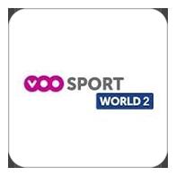 Live sport events on <b>VOO Sport</b> World 2, Belgium - <b>TV Station</b>