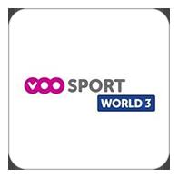 Live sport events on <b>VOO Sport</b> World 3, Belgium - <b>TV Station</b>